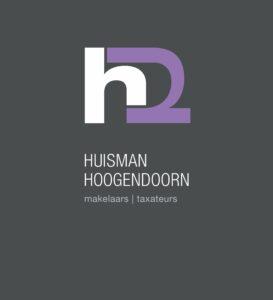 H2 Makelaars logo 5 grote grijze rand2 273x300